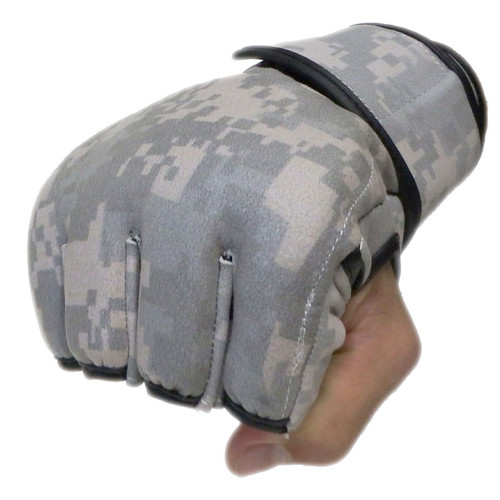 Army Camouflage Fight Gloves 4oz