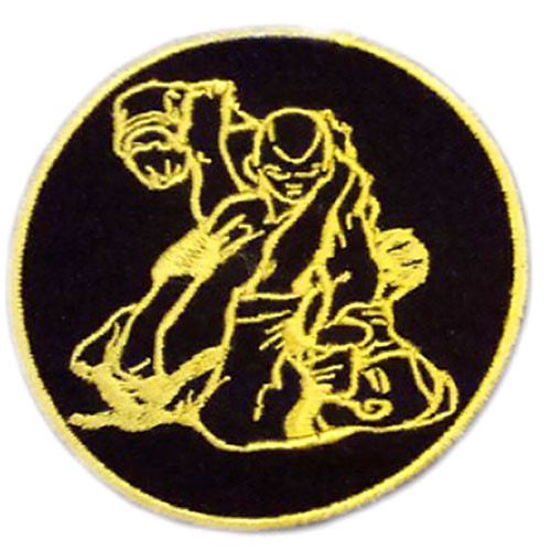 Modern Army Combatives GI Patch Black and Gold