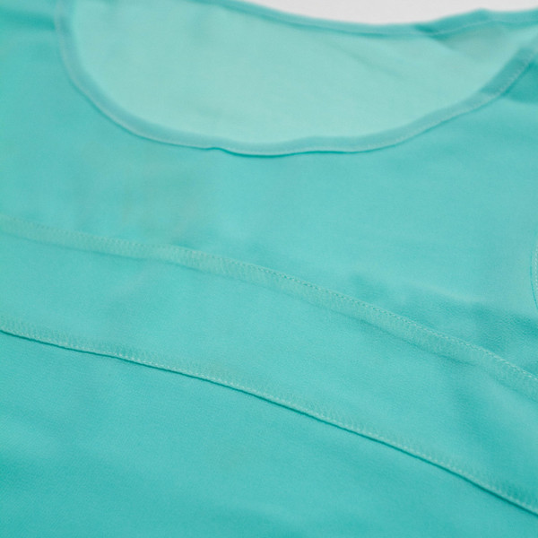 The Aly Tank - Mint detail
