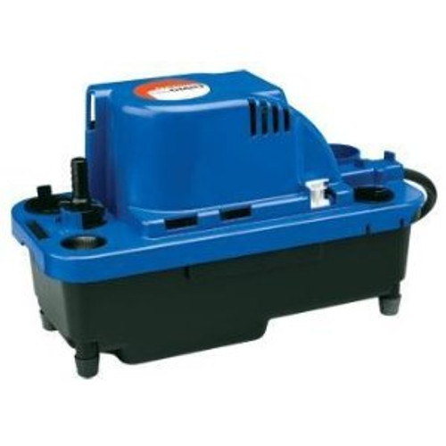 Little Giant 554530 VCMX-20ULS 1/30 HP Automatic Condensate Removal Pump, 6' Power Cord