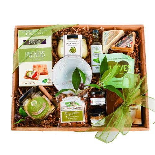 Twana creations gift baskets rustic holiday gourmet gift tray negle Choice Image