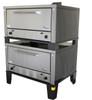 "Peerless 12"" Gas & Electric High Roast Double Deck Bake Oven"