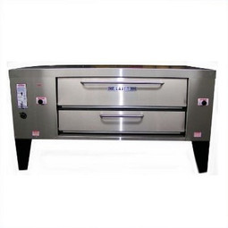 Attias CHUBBY Double Deck Pizza Oven 2 CH 12-16, NG
