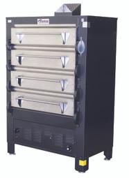 Peerless Four Deck Four Pan Gas Ovens -2324P