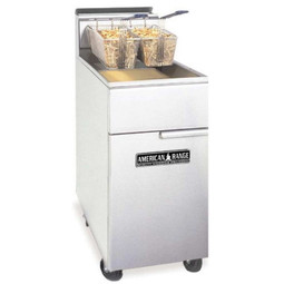 American Range AFM-45 Gas Fryer with Filtration