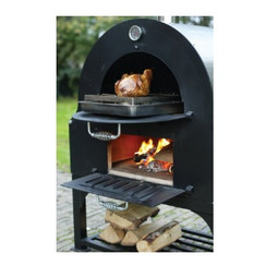 Omcan GX-B1 Wood Burning Oven with Stand