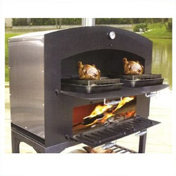 Omcan GX-DL large Wood Burning Oven w/ Shelf