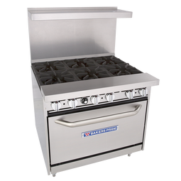 "Bakers Pride 36"" Restaurant Series Standard Oven - 36-BP-6B-S30"