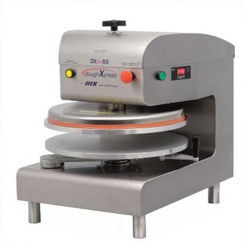 DoughXpress DXA-SS Semi-Automatic Dough Press, 220V/60/1ph