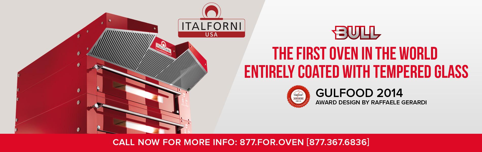 Italforni-bulldeck Pizza Oven