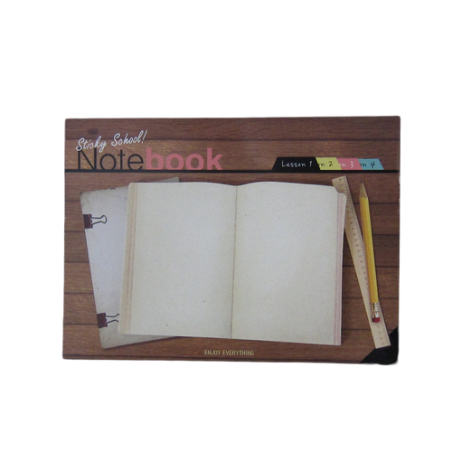 Notebook sticky note Lesson 1-4