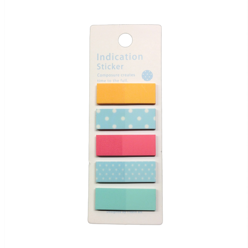 Sticky page marker (assorted color)