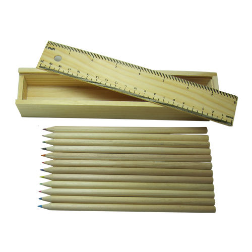 Coloring Pencil (box with ruler)