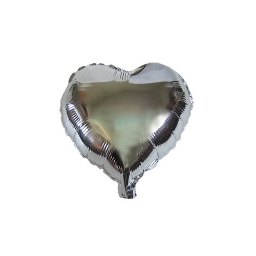"Heart Shape Balloon (10"" Silver)"