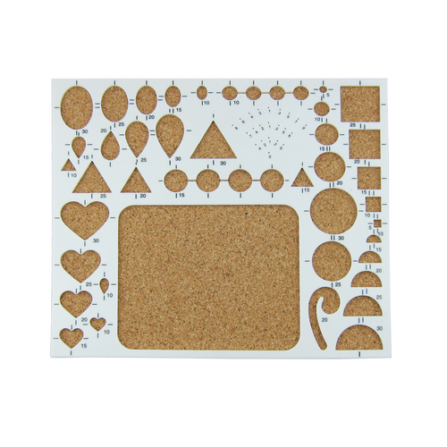 Quilling Sizing Cork Board