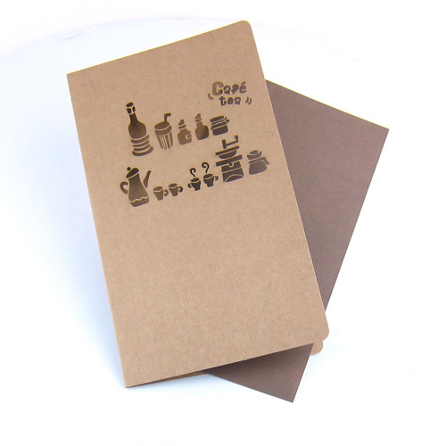 Multi-Purpose Greeting Card - Cafe Tea