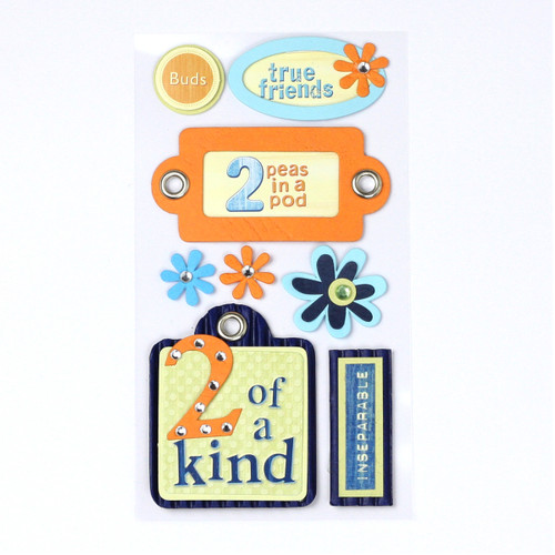Friendship 3D Stickers