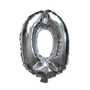 Number Balloons (Silver 0)
