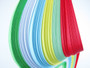 5mm Paper Quilling Strips 6 Color 180pcs Set (Set 4)
