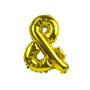"""14"""" AND (&) Ampersand Sign (Gold / Silver)"""