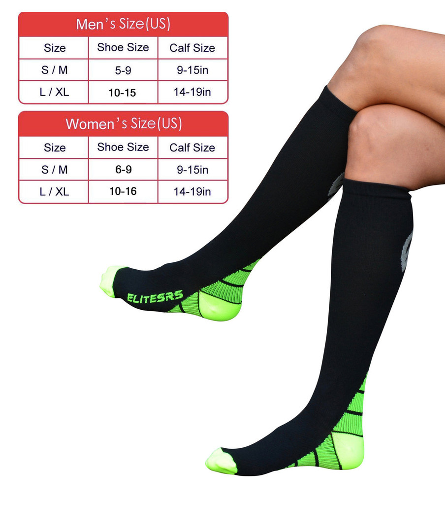 compression sock sizing