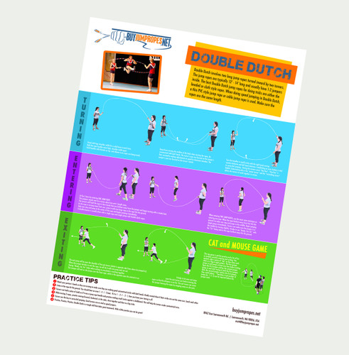 Double Dutch Instructional Poster