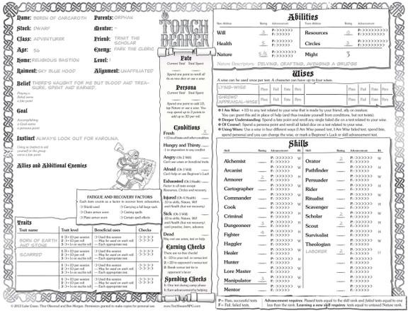 torchbearer free pdf bundle