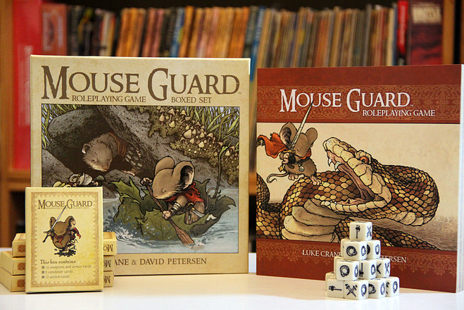 mouse guard rpg second edition boxed set 10th anniversary sale