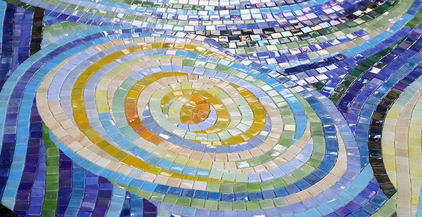 Custom Glass Art Mosaic