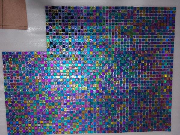 Y1 Rainbow Glass Mosaic Tiles