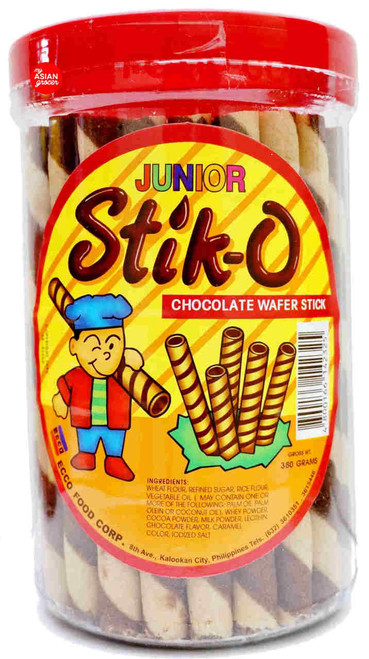 Ecco Junior Stik-O Chocolate Wafer Stick 380g