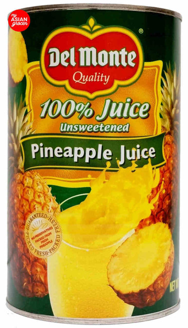 Del Monte Unsweetened 100% Pineapple Juice 1.36L