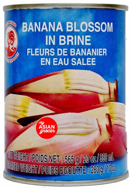 Cock Brand Banana Blossom in Brine 565g