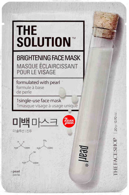 The Solution Brightening Face Mask Pearl 20g
