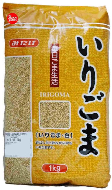 Mitake Irigoma Shiro Roasted Sesame Seeds 1kg
