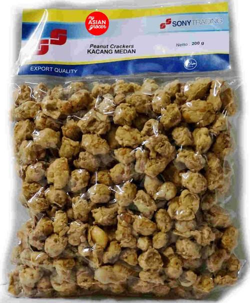 SonyGroup Kacang Medan Peanut Crackers 200g