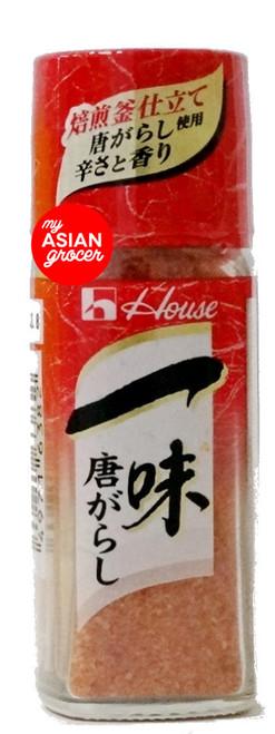 House Ichimi Togarashi (Red Chili Powder) 16g