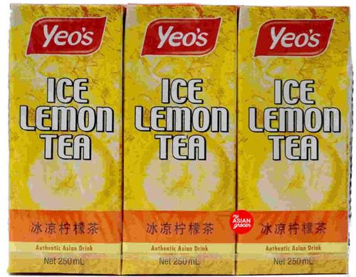 Yeo's Ice Lemon Tea 250ml x 6