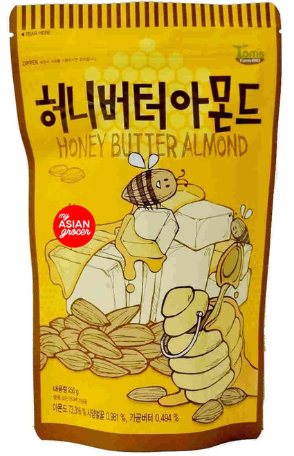 Tom's Farm1982 Honey Butter Almond 250g
