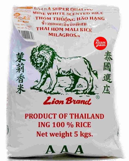 Lion Brand Jasmine White Scented Rice 5kg
