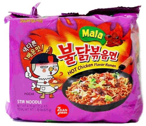 "Samyang Hot Chicken ""Mala"" Ramen 135g x 5 Pack"