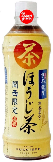 Suntory Lyemon Roasted Green Tea Drink (Hojicha) 500ml
