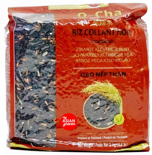 O-Cha Black Glutinous Rice 2kg