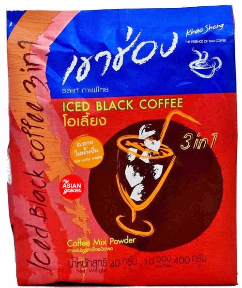 Khao Shong Iced Black Coffee 400g