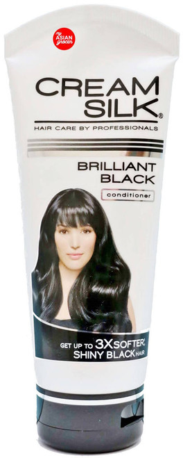 Cream Silk Brilliant Black Conditioner 200ml