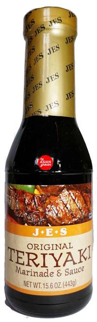 JES Original Teriyaki Marinade & Sauce 443g