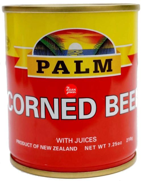 Palm Corned Beef 210g