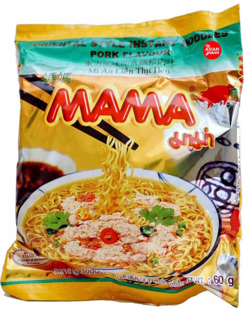 Mama Brand Pork Flavour Instant Noodles 60g