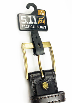 5.11 Tactical Belt - Dark Brown - Small 28-30 - 1