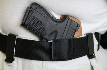 IWB Comfortable concealment holster wearing ccw concealed carry